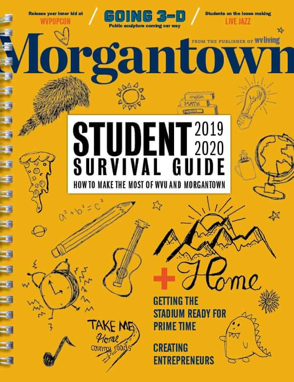 Front cover of August/September issue of Morgantown