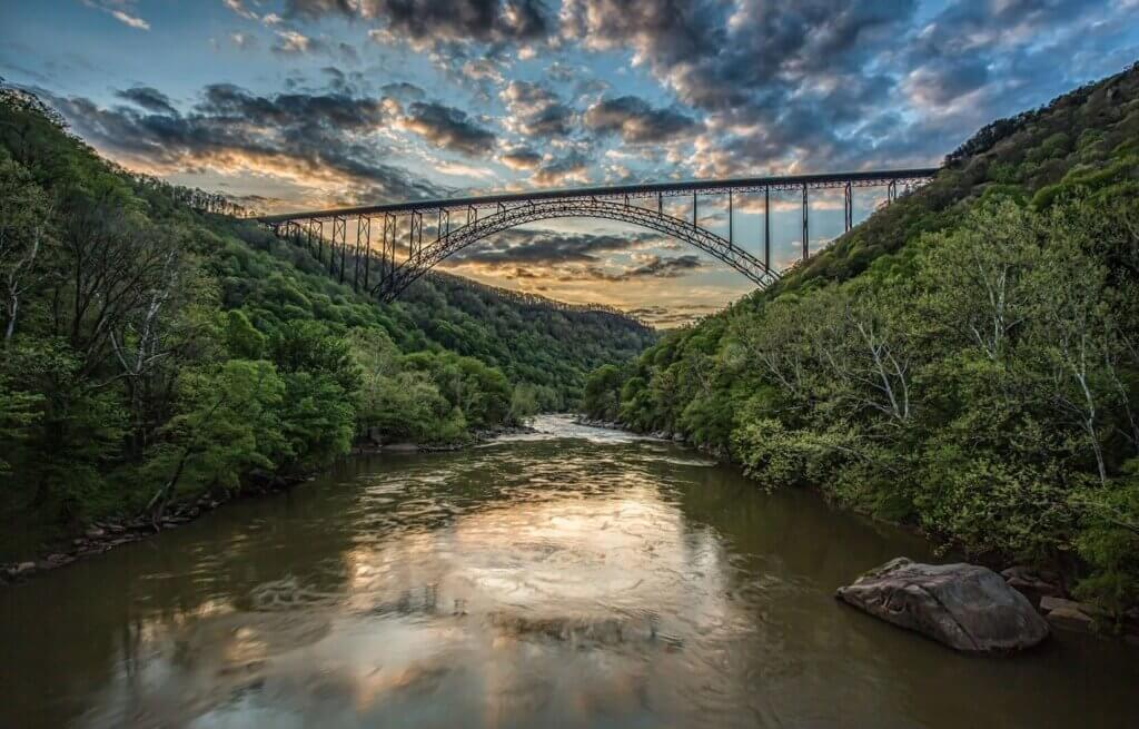 This image has an empty alt attribute; its file name is New-River-Gorge-Bridge2-Randall-Sanger-1024x655.jpg