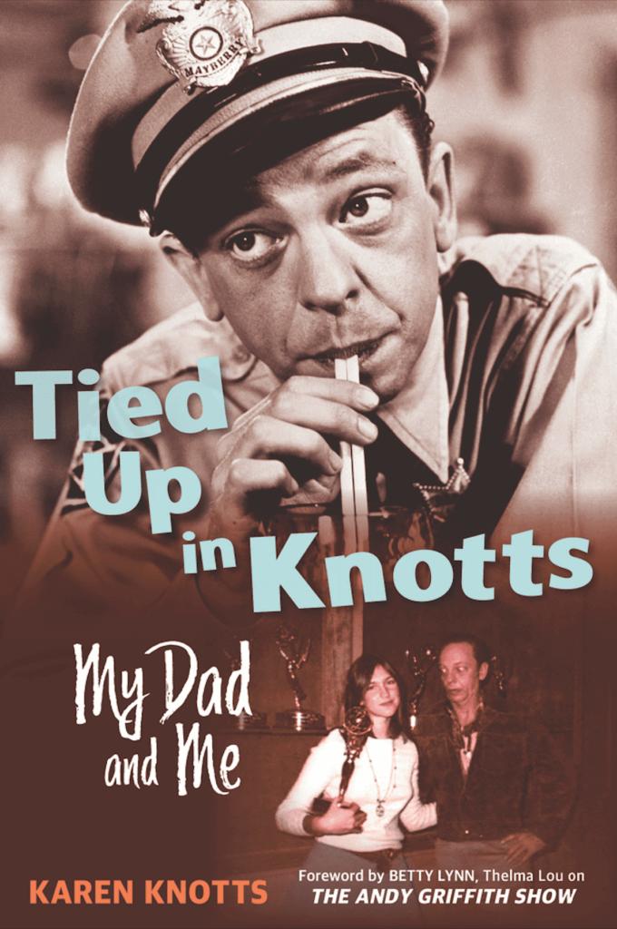Morgantown native Don Knotts & his daughter, Karen Knotts.