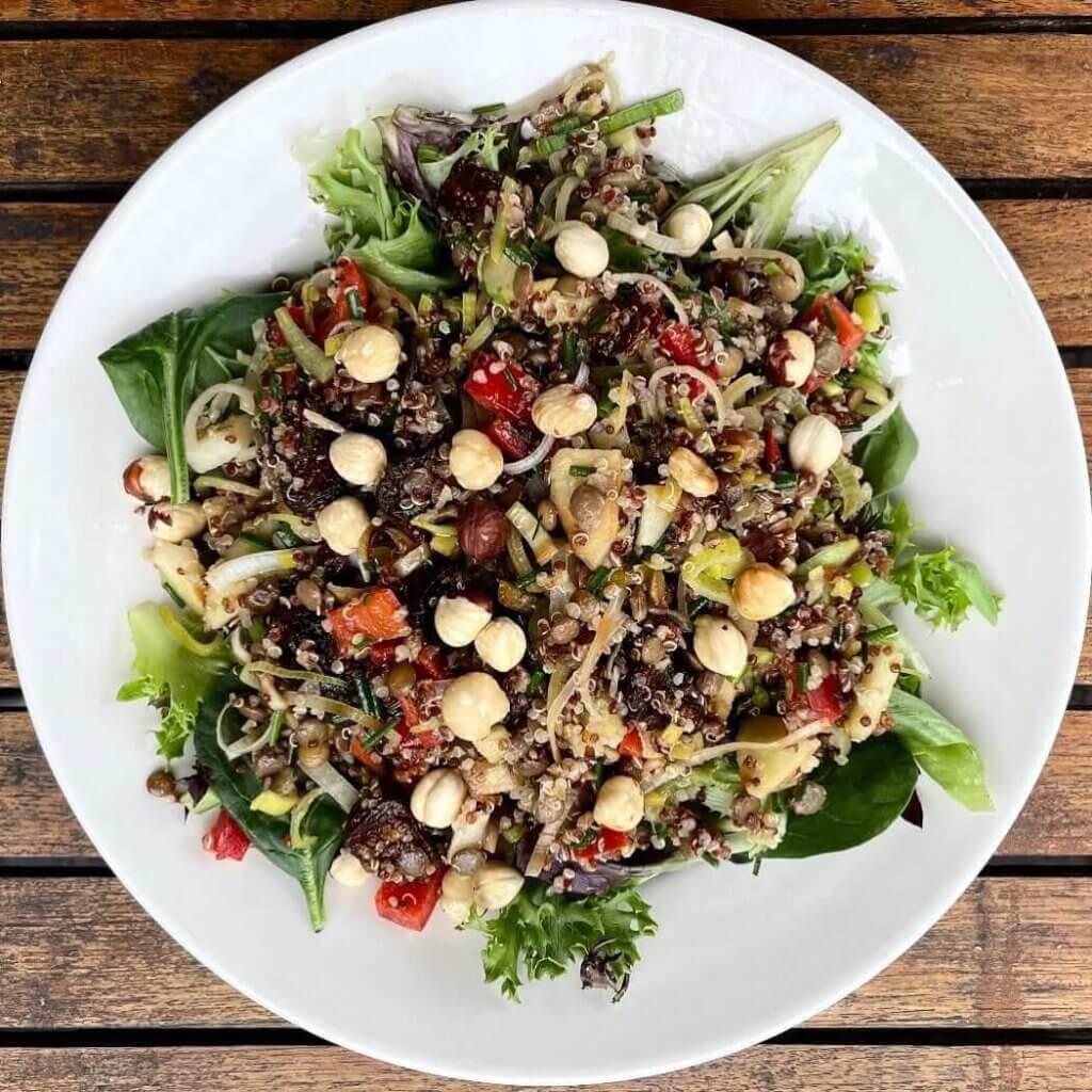Vegan offering at Terra Cafe